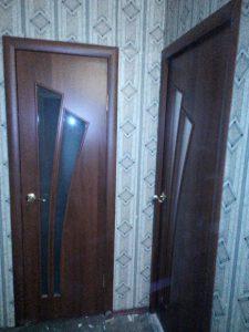 Ламинированная дверь 4с4