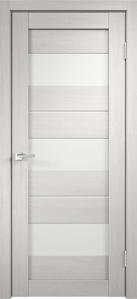 Межкомнатная дверь Duplex (Дуплекс) 12 беленый дуб