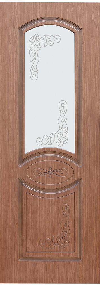 Межкомнатная шпонированная дверь Муза ПО
