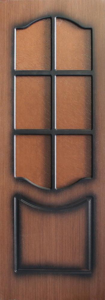 Межкомнатная шпонированная дверь Оренсе ПО