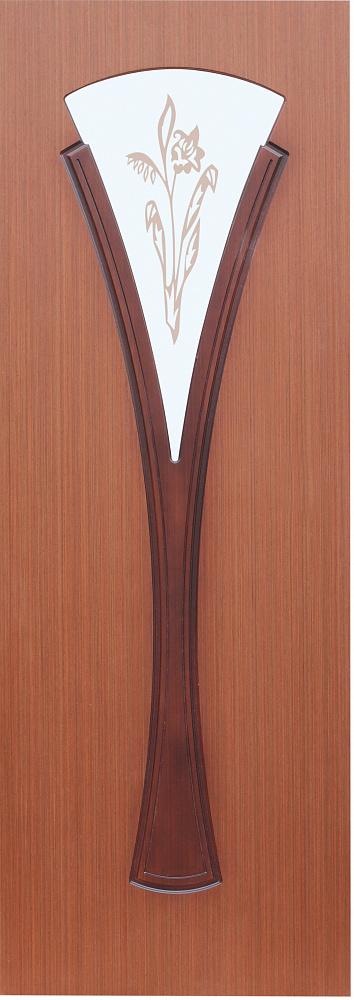 Межкомнатная шпонированная дверь Вита ПО
