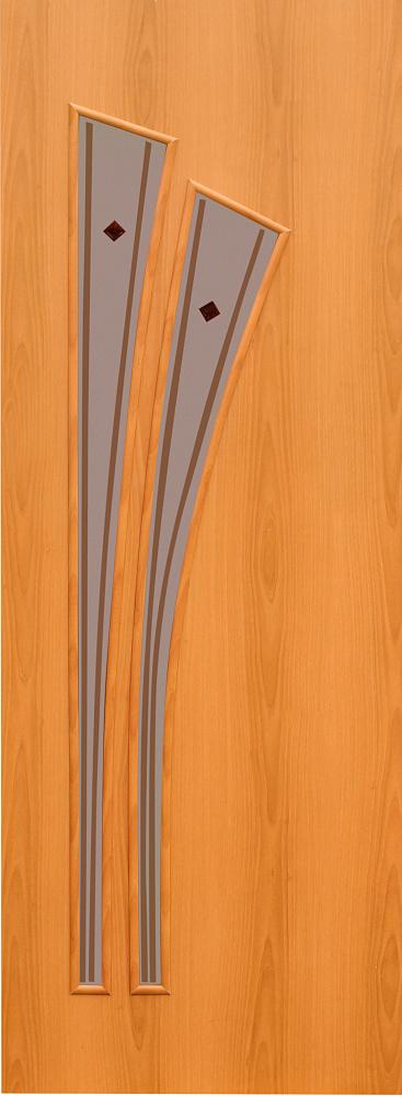Ламинорованная межкомнатная дверь 4с4ф