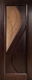 Межкомнатная дверь из массива Диана ПО